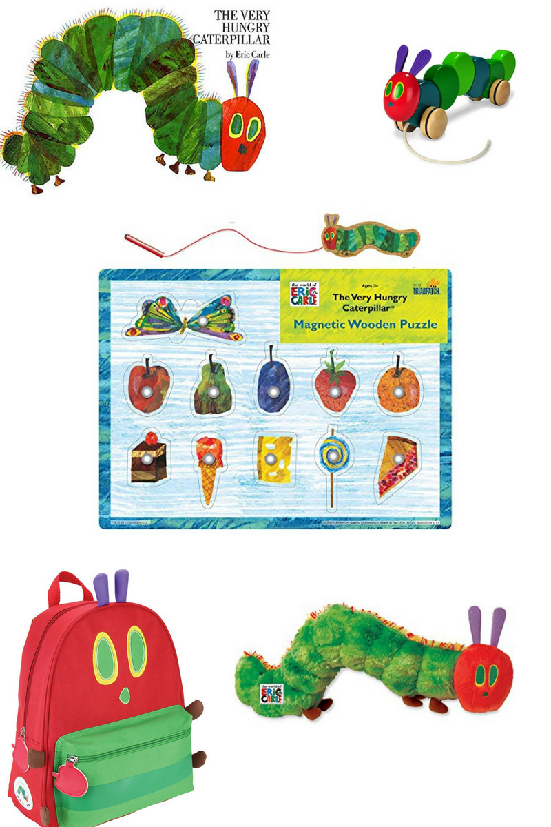 The Very Hungry Caterpillar gifts