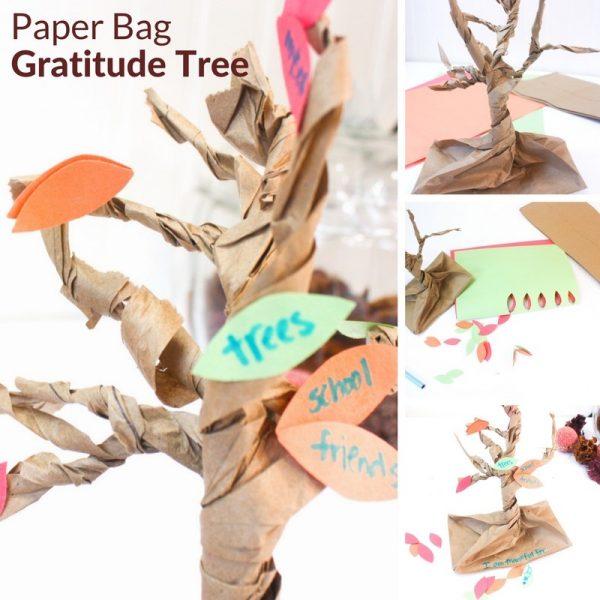 paper bag gratitude tree 2