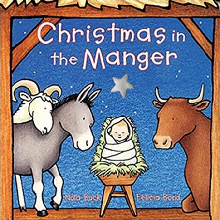 Christmas board book christmas in the manger