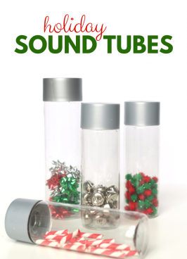 Holiday Sound Tubes – Sensory Play for Preschool