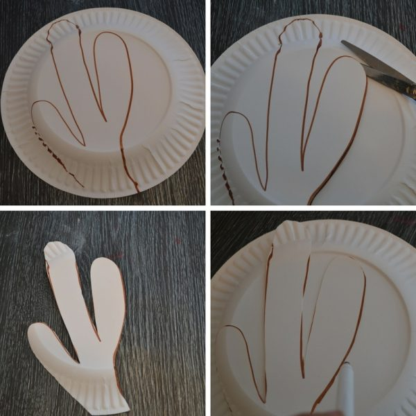 Paper Plate Rudolph Mask 1
