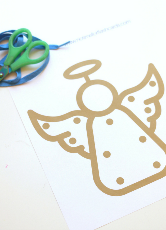 angel lacing card free printable