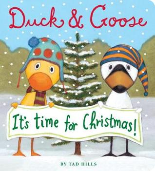 duck and goose it's christmas time