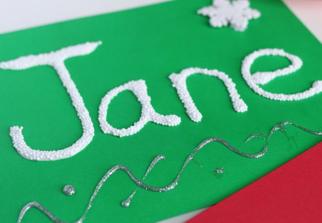 snow names preschool craft (5)