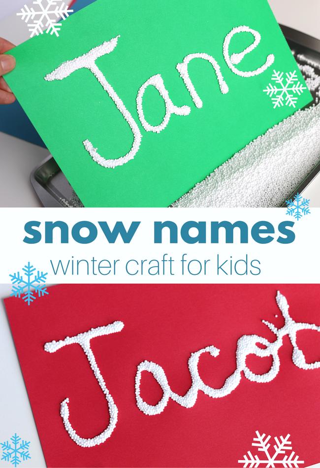 snow names preschool craft (9)