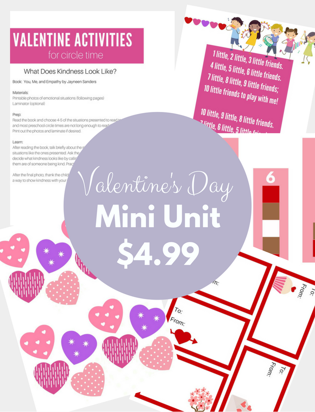 Valentine Friends Mini-Unit (3)