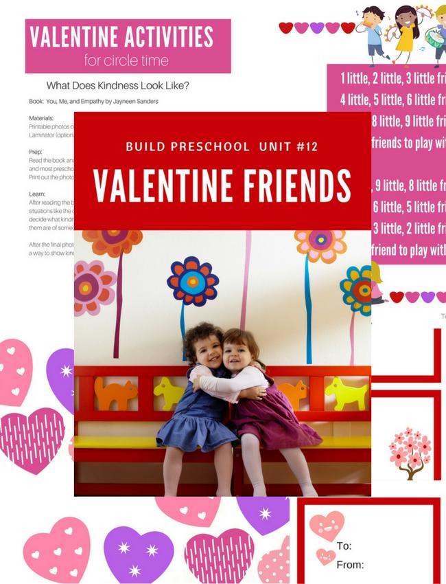 Valentine Friends Mini-Unit