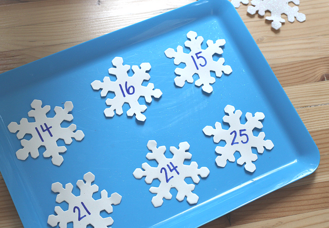 snowflake math center activity homeschooling elementary school (1)