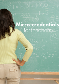 Professional development and micro credentials for teachers