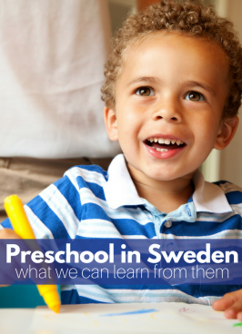 Preschool Around The World - blog series by no time for flash cards