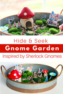 Hide & Seek Sherlock Gnomes Garden - No Time For Flash Cards