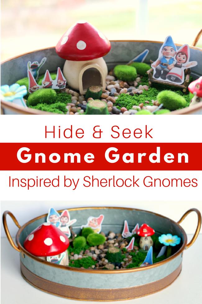 Sherlock Gnomes Garden