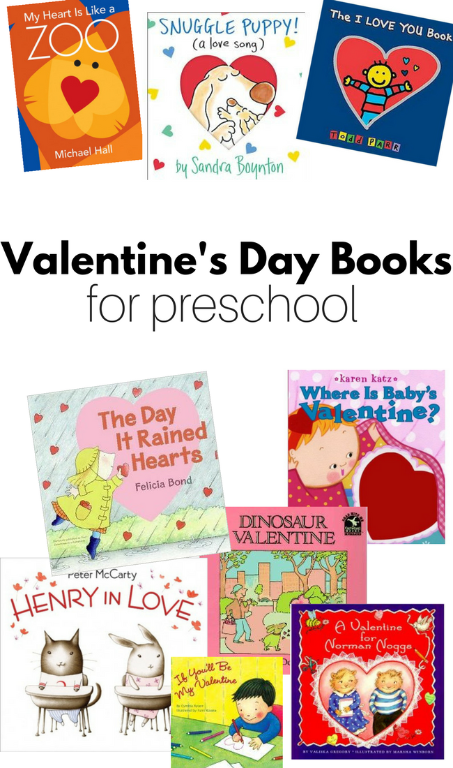 valentines day books for preschool