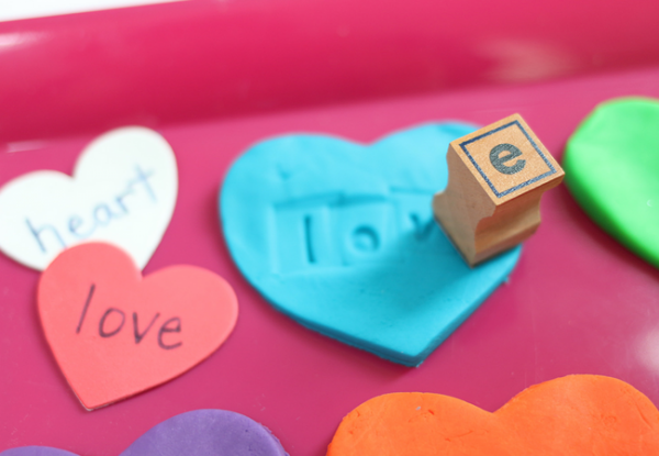 valentine's day literacy activity stamping hearts (6)