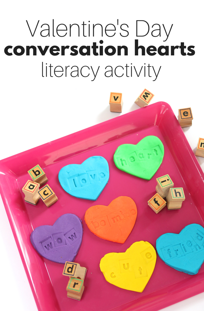 Valentine's Day sight words activity
