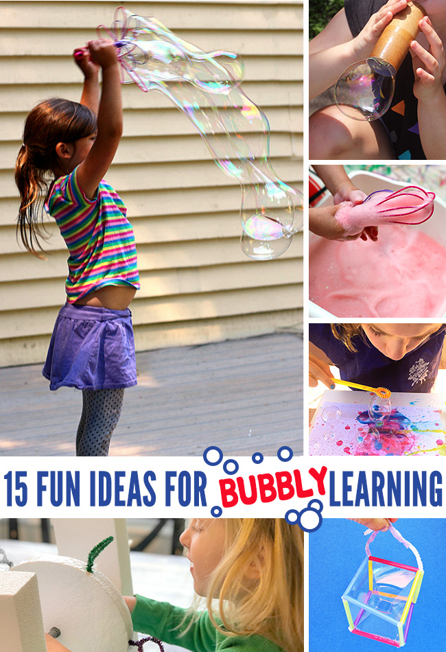15 Bubble Activities