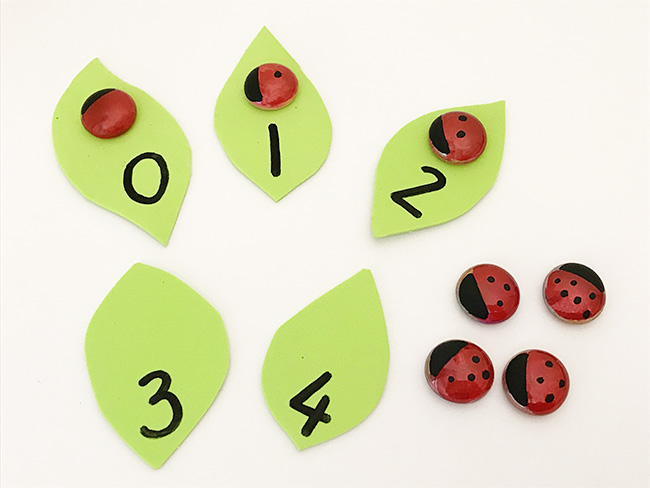 Counting and numeral recognition bugs