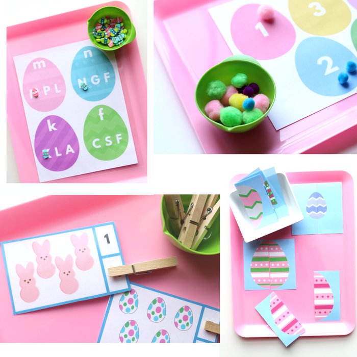 Easter Printable Pack For Preschool