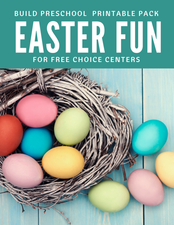 Easter printable pack - free choice activities for easter