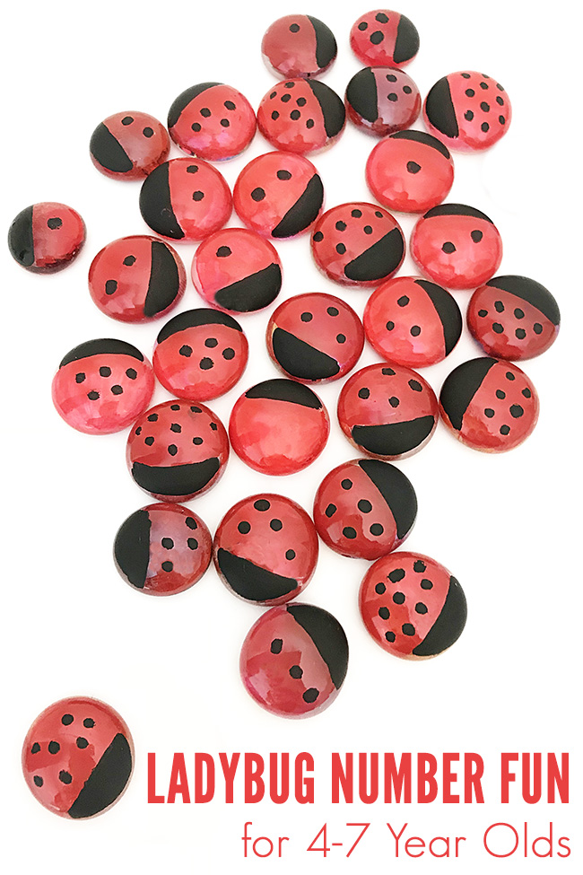 Ladybug number activities