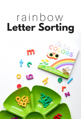 Rainbow Letter Sorting