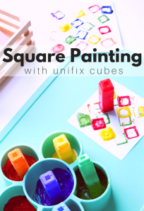 Square Painting activity for preschool
