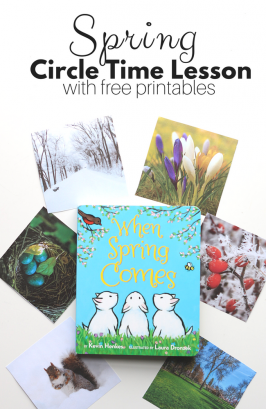 When Spring Comes – Preschool Lesson Plan with Free Printables