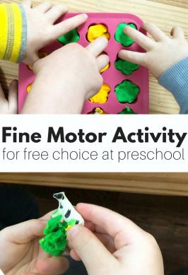 Hide & Seek Animals – Fine Motor Activity for Preschool