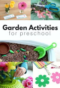 Preschool flower crafts
