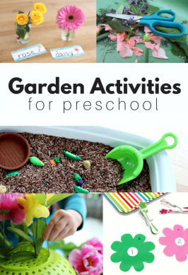 Preschool flower crafts