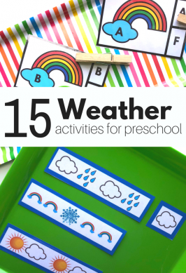 Weather Activities for Preschool – Free Printable!