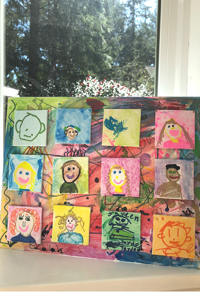 self portraits for preschool (10)