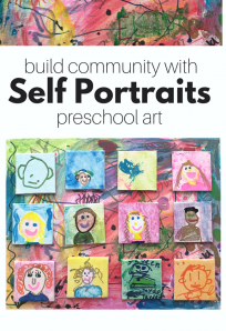 self portraits for preschool (9)