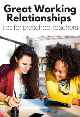 Preschool Teacher Tips : Lead and Assistant Teacher Relationships
