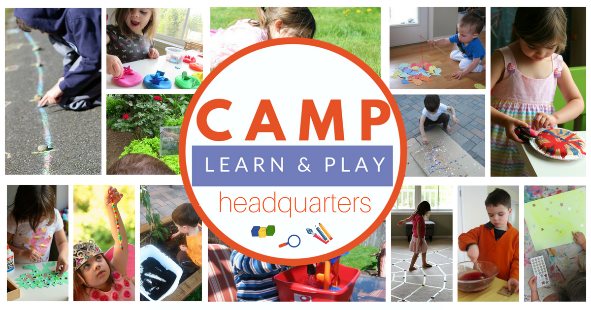 Camp learn play free summer camp at home i am thrilled to offer camp learn play this year free for my readers camp learn play is free summer camp at home that can fit any schedule fandeluxe Images