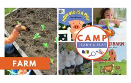 Camp Learn & Play – Farm Week