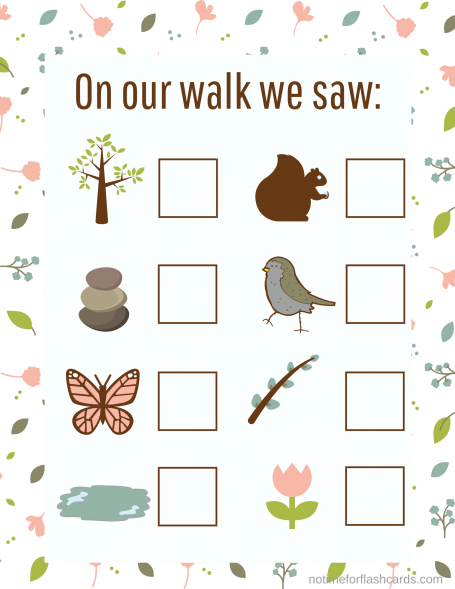 Nature Walk & Count
