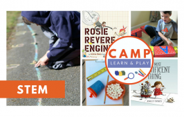 Camp Learn & Play – STEM WEEK