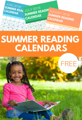 Summer Reading Calendars – Free Printables