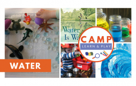 Camp Learn & Play – Splish Splash Water Week