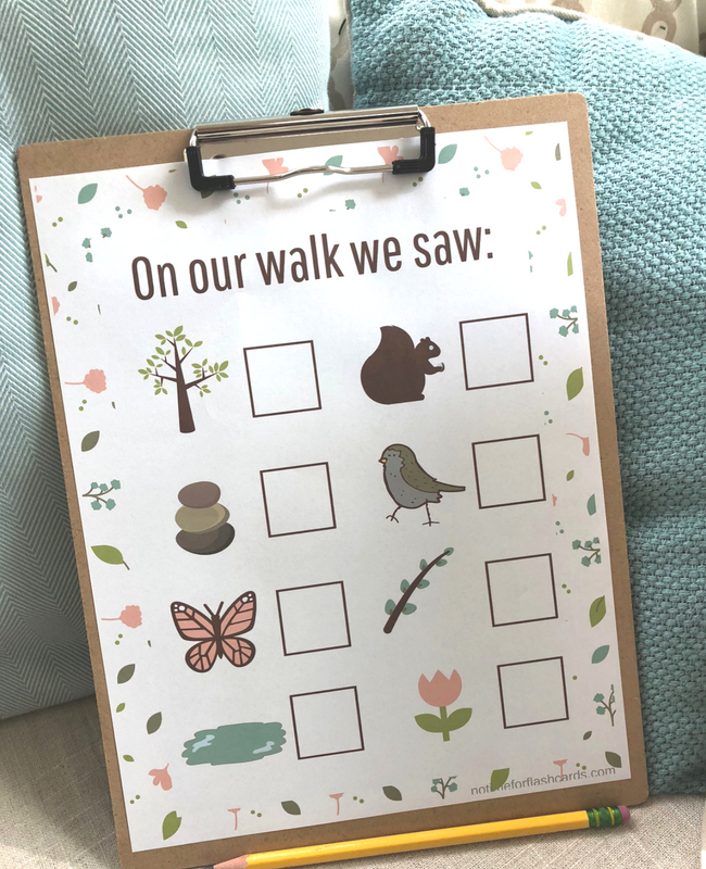 nature walk math activity for preschool and kindergarten (1)