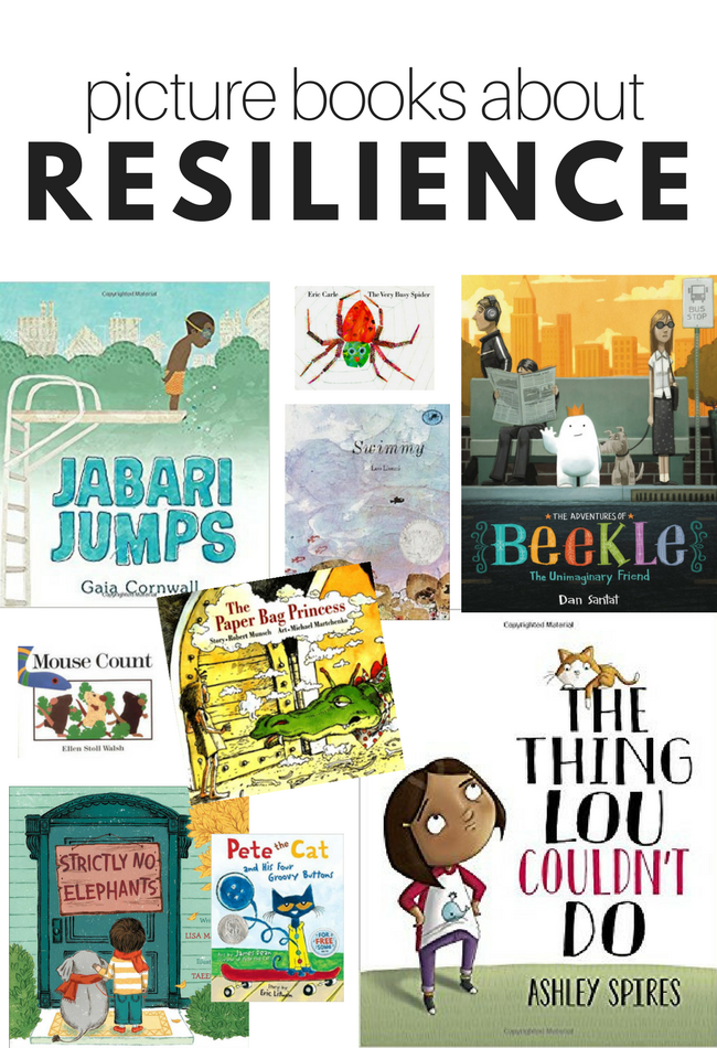 Preschool picture books about resilience