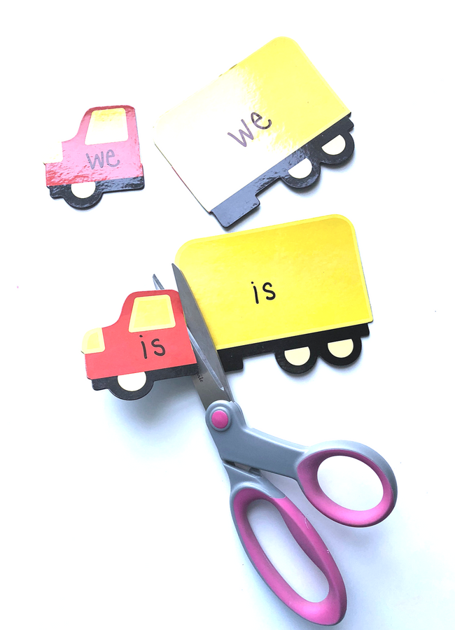 sight word magnets