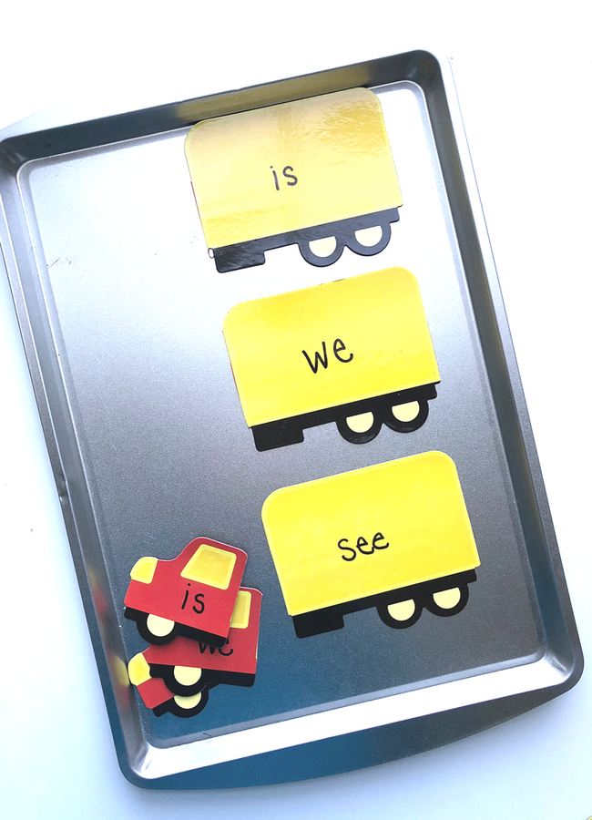 sight word magnet activity