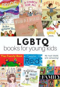 Pride picture books for LGBT