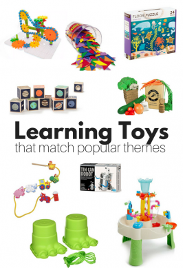 The Best Learning Toys For Popular Preschool Themes