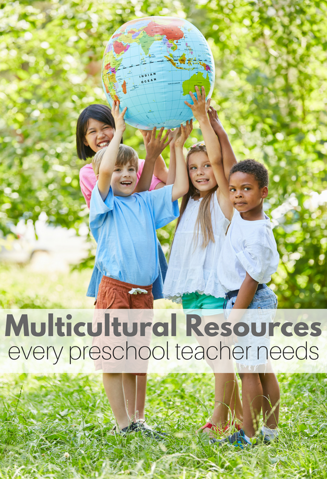 multicultural resources for preschool classrooms