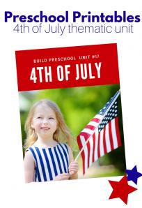 4th of july unit for preschool