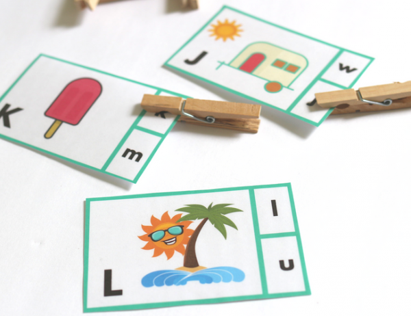 literacy activity for preschool