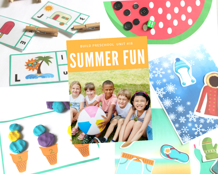 Summer Preschool Lesson Plans and Curriculum - No Time For